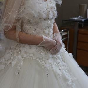 ウェディングドレス選びに同行させて頂きました‼️