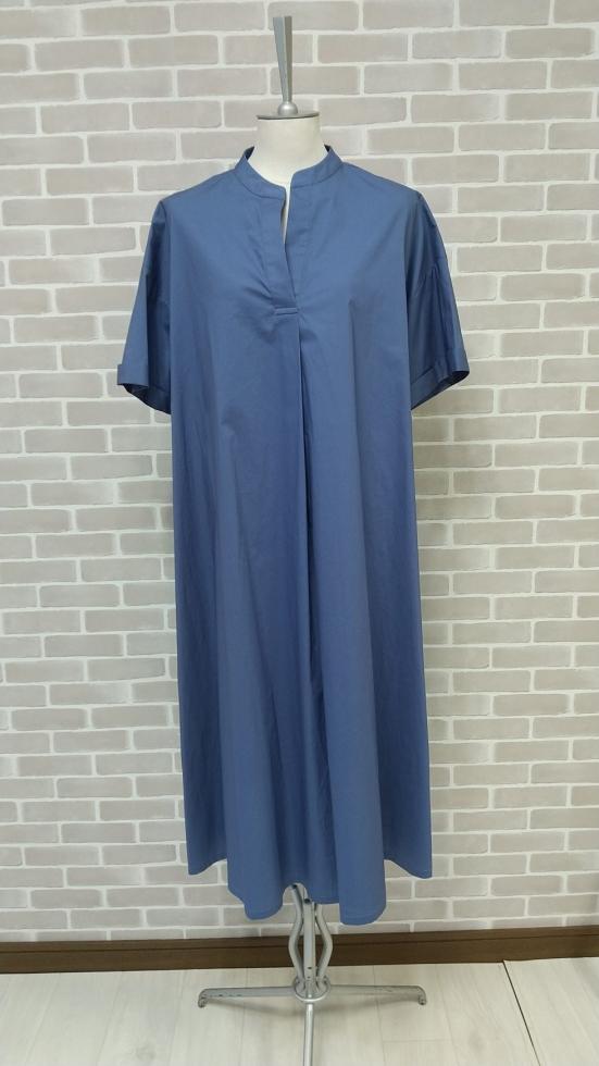 ブルーのサマードレス入荷【品切れ】